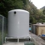 市井川浄水場原水槽設置工事