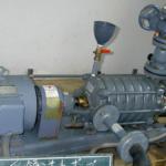 受領1号送水ポンプ修繕工事